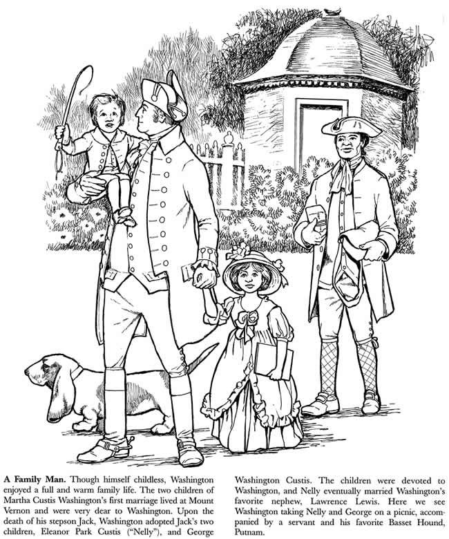 George Washington Coloring Book Dover Publications ...