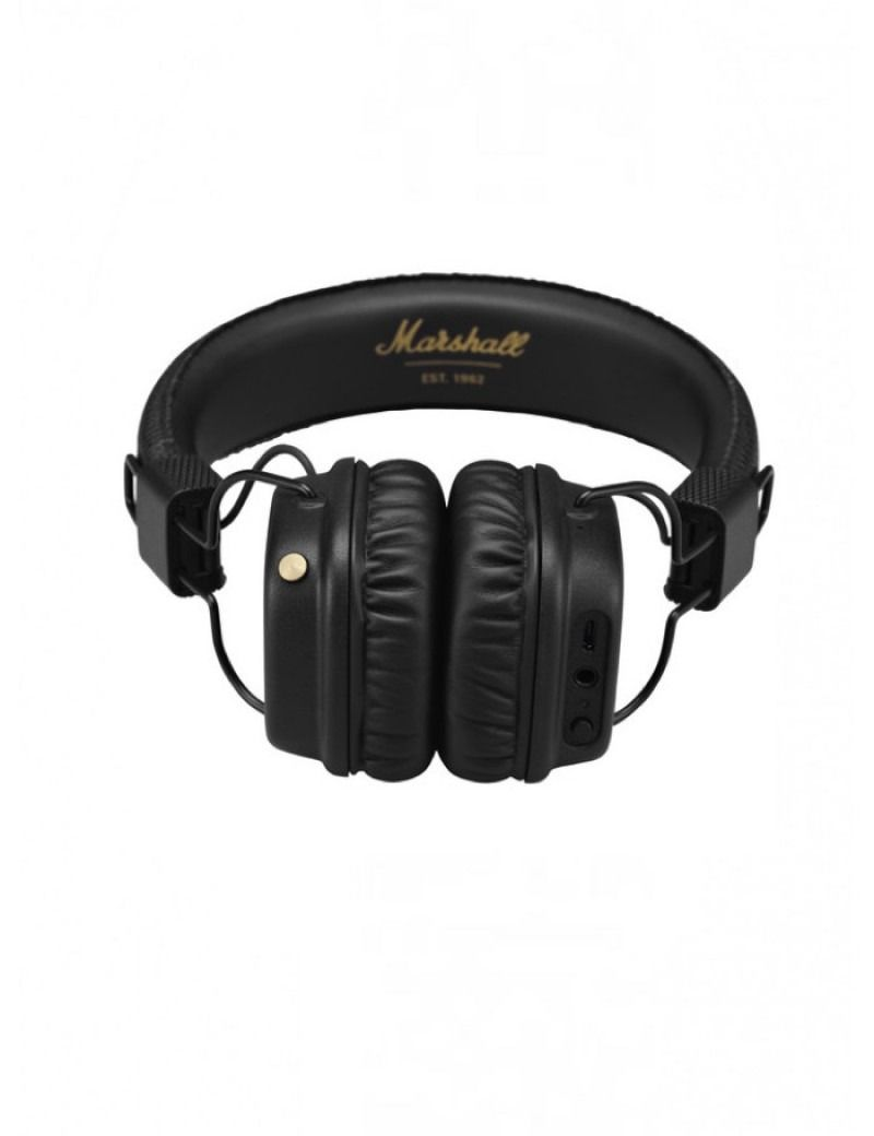 Marshall Major Ii Bluetooth Black Vinyl And Gold S H O P Speaker Leather Hitam