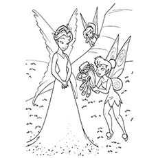 Top 25 Free Printable Tinkerbell Coloring Pages Online  Tinker