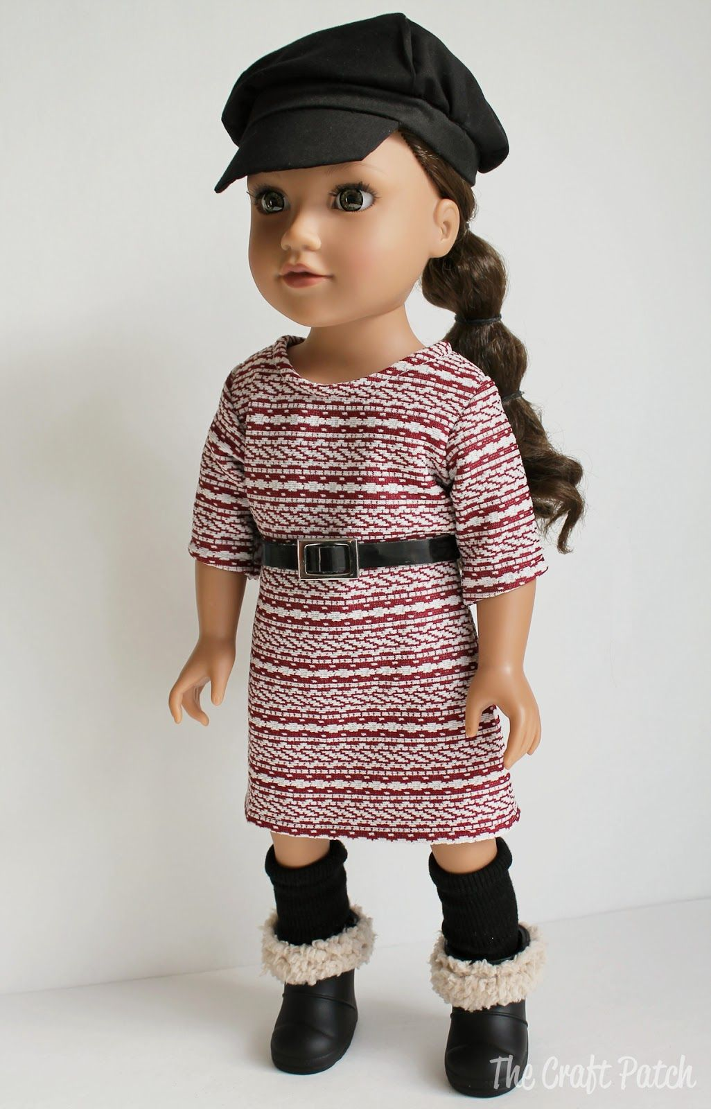 The Craft Patch: American Girl Doll Basic Knit Dress Pattern and ...