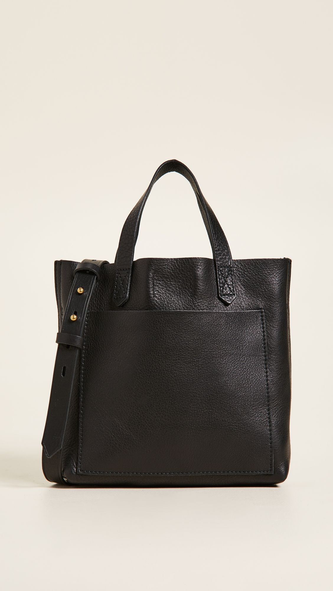 9fdc10017 Madewell Mini Pocket Transport Tote   Products   Madewell transport ...