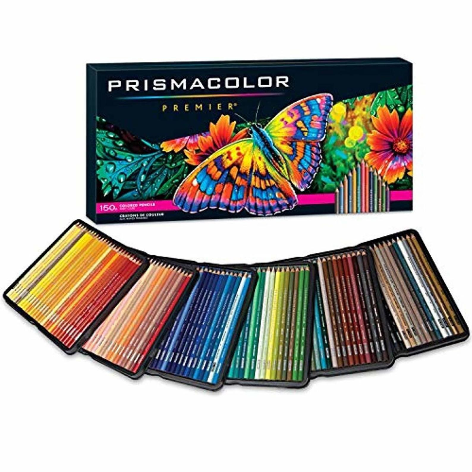 Prismacolor Premier Colored Pencils Soft Core 150 Pack