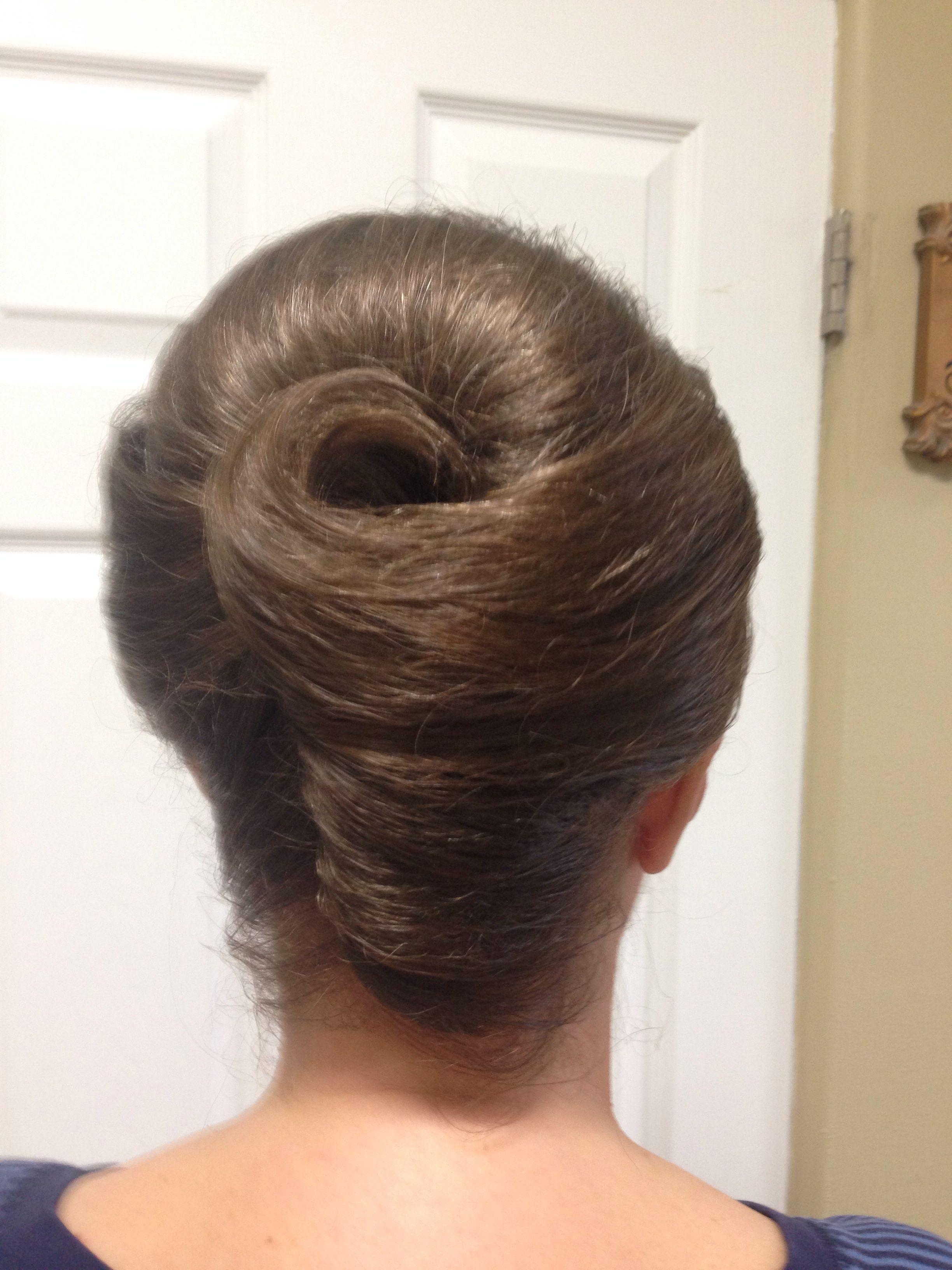 Classic French Twist By Linda Hair Ideas Pinterest