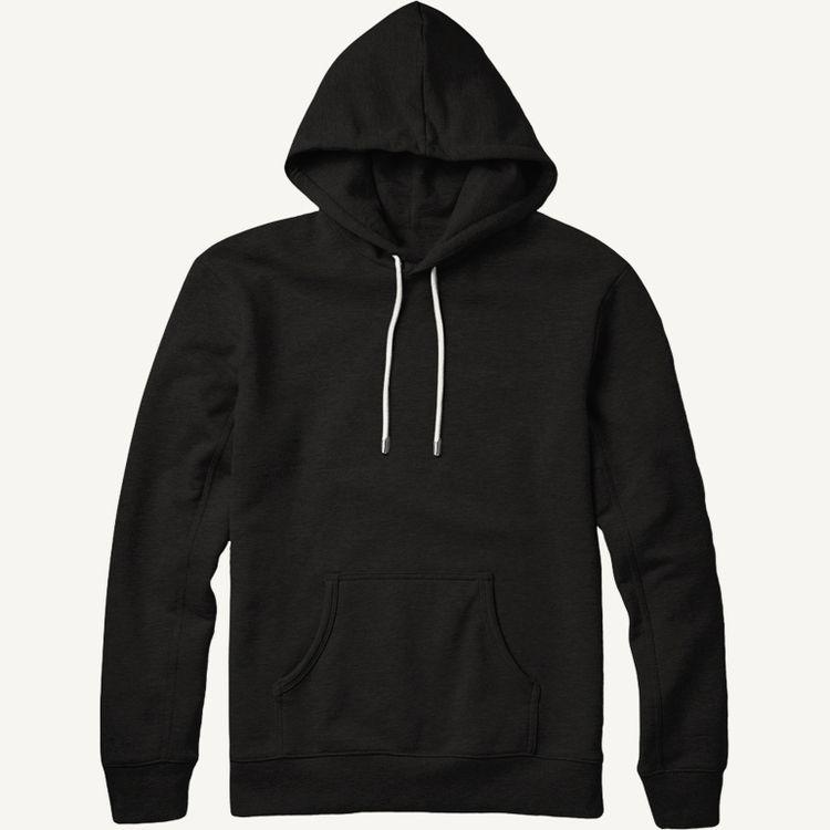 White hoodie mockup