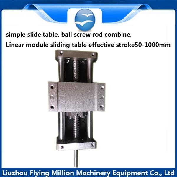 170.10$  Buy here - http://ali7sp.worldwells.pw/go.php?t=32355072620 - simple slide table, ball screw rod combine, Linear module sliding table effective stroke400mm 170.10$