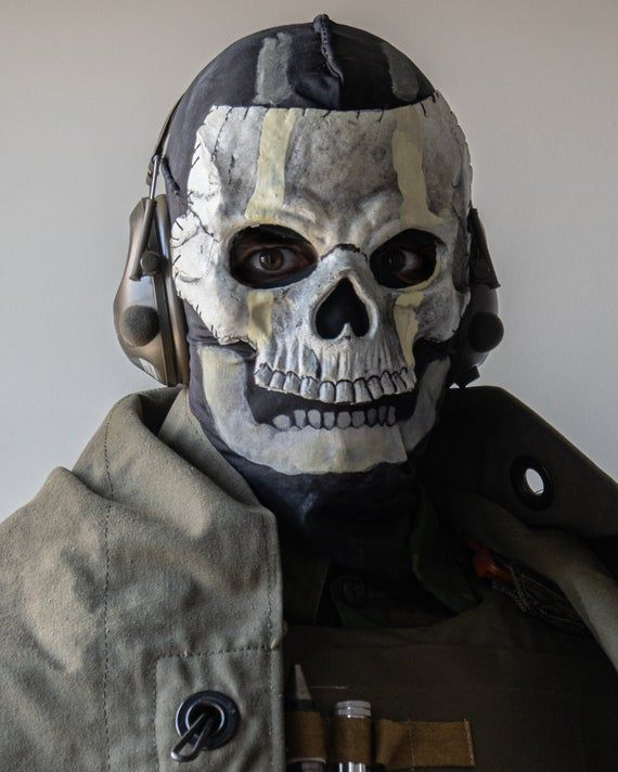 Modern Warfare Inspired Ghost Mask Call Of Duty 2020 In 2020