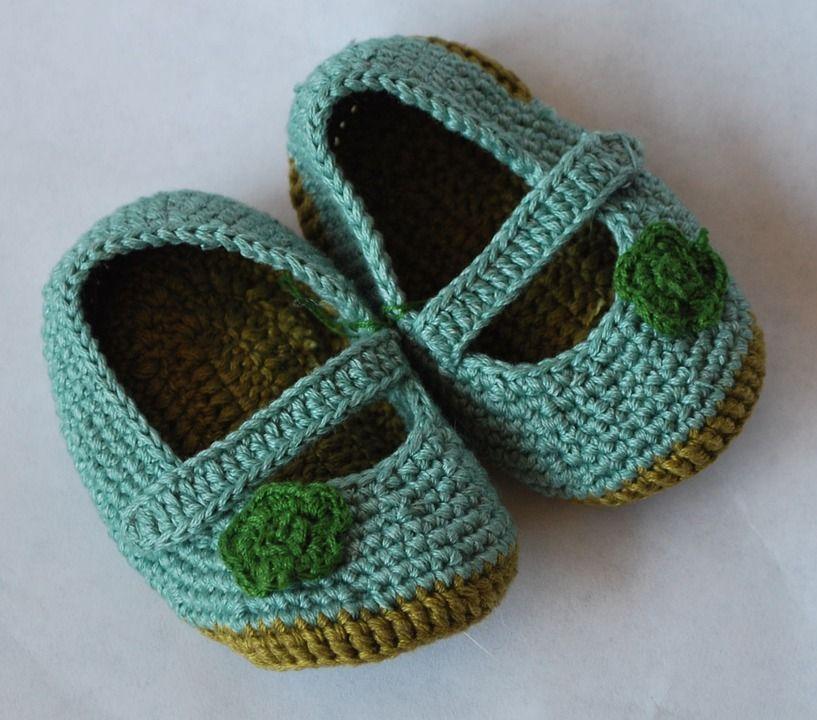 Bildergebnis für babyschuhe häkeln anleitung kostenlos | Babyschuhe ...