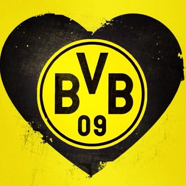 Echte Liebe Borussia Dortmund Logo Borussia Dortmund Borussia Dortmund Wallpaper