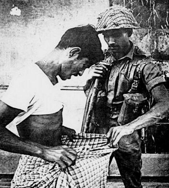 A snip away from death, Bangladesh 1971