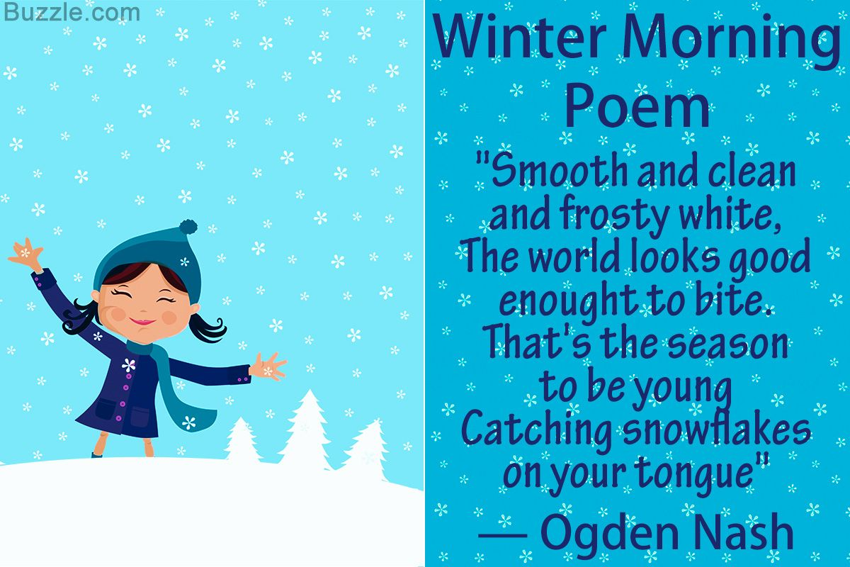 10 Most Famous Poems About The Winter Season Nice Famous
