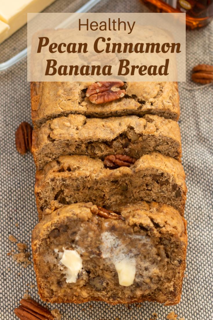 Pecan Cinnamon Banana Bread Wine A Little Cook A Lot Cinnamon Banana Bread Banana Bread Recipes Banana Pecan Bread