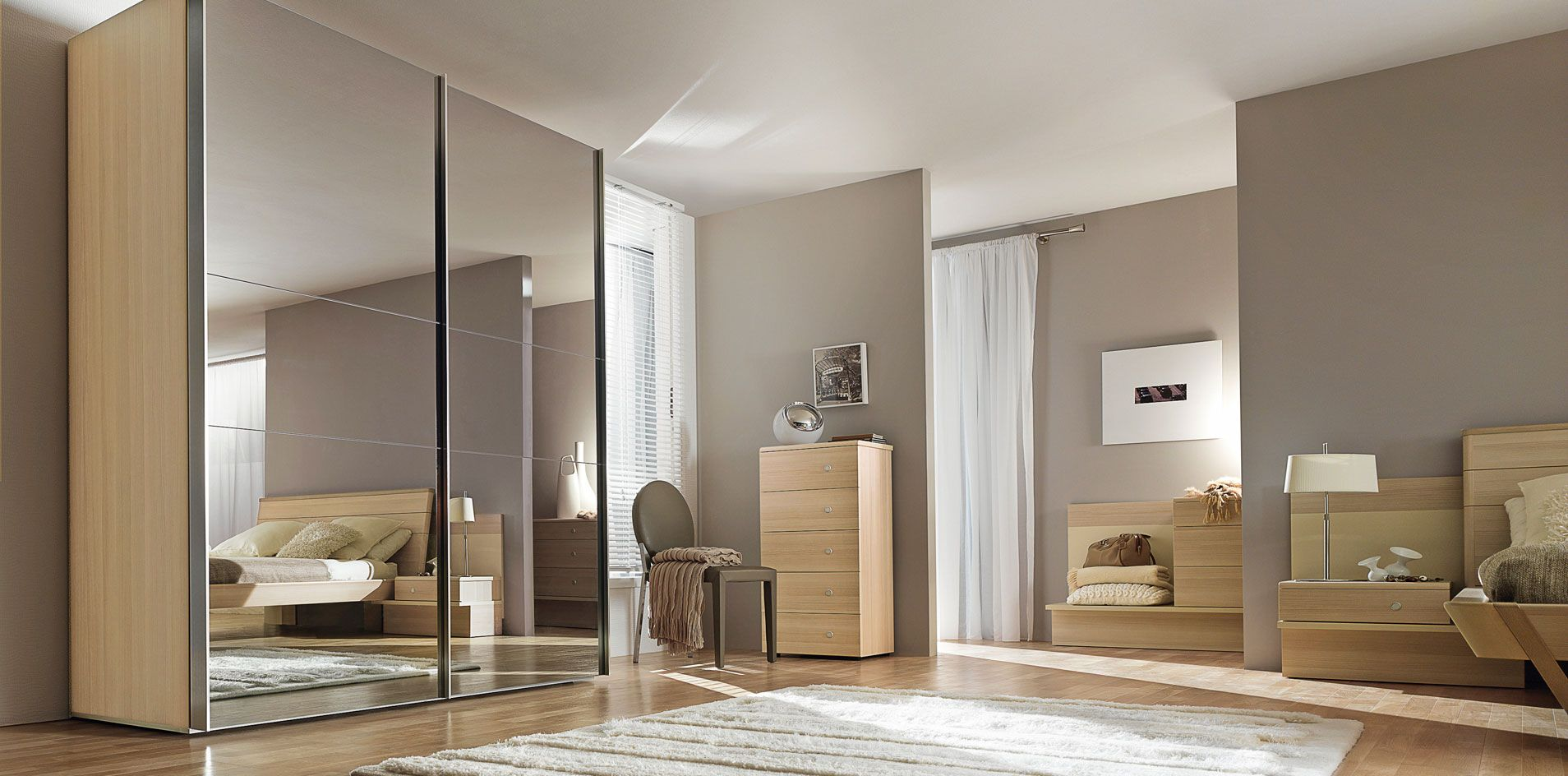 sliding doors wardrobe dressing gautier furniture made in france for the. Black Bedroom Furniture Sets. Home Design Ideas