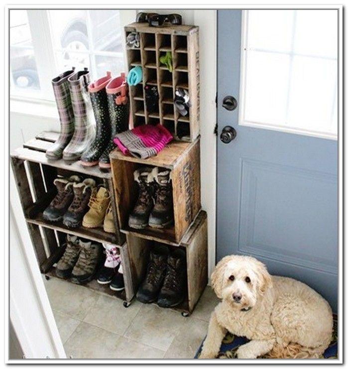 Muddy Boot Storage Ideas