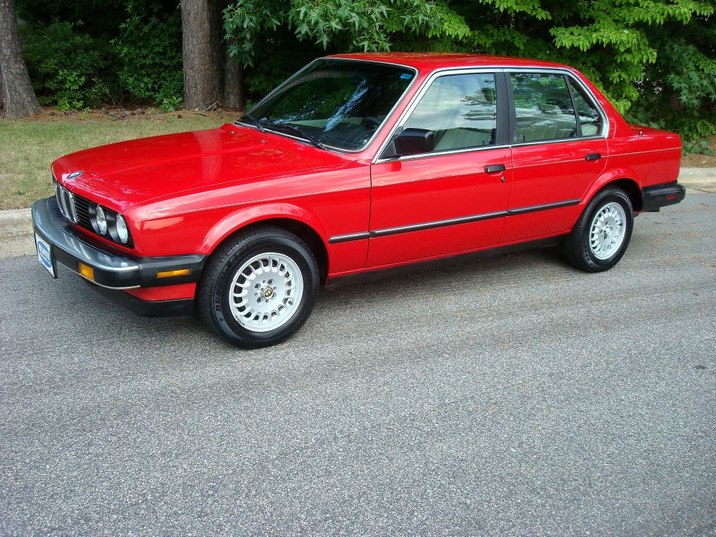 My 1987 BMW 325e, all original car. What a blast to drive