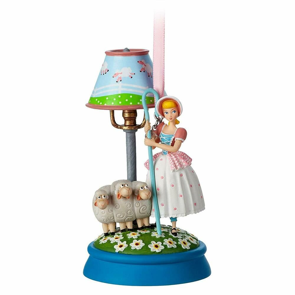 Details About 2019 Disney Store Bo Peep And Sheep Light Up Sketchbook Ornament Toy Story 4 In 2020 Sketchbook Ornaments Hanging Ornaments Disney Ornaments