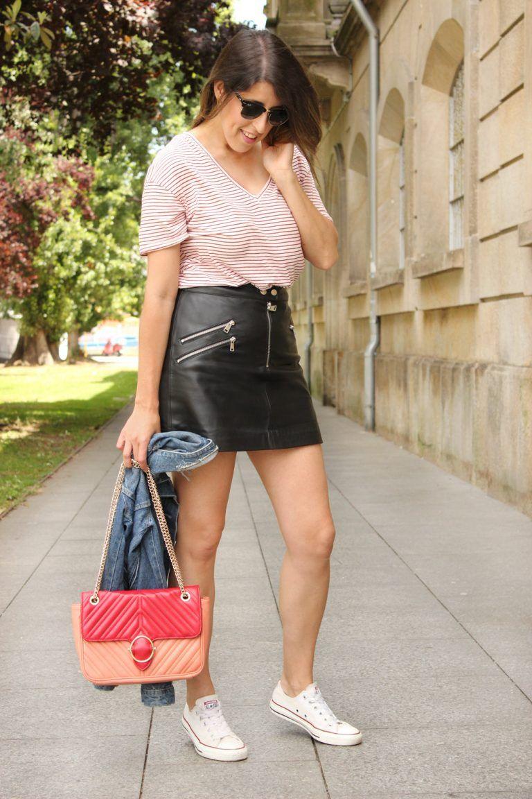blog-moda-look-falda-de-cuero-negra  d7102d0fd76