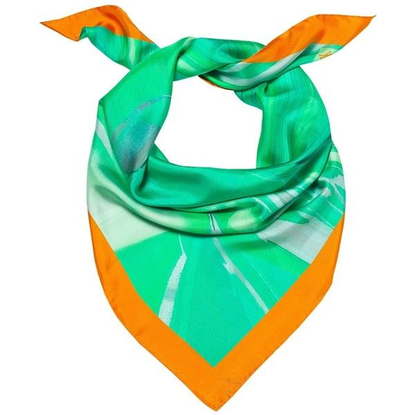 Madison Knight - Jade Arden Silk Scarf (125 CAD) ❤ liked on Polyvore featuring accessories, scarves, pure silk scarves, silk shawl, print scarves, silk scarves and patterned scarves