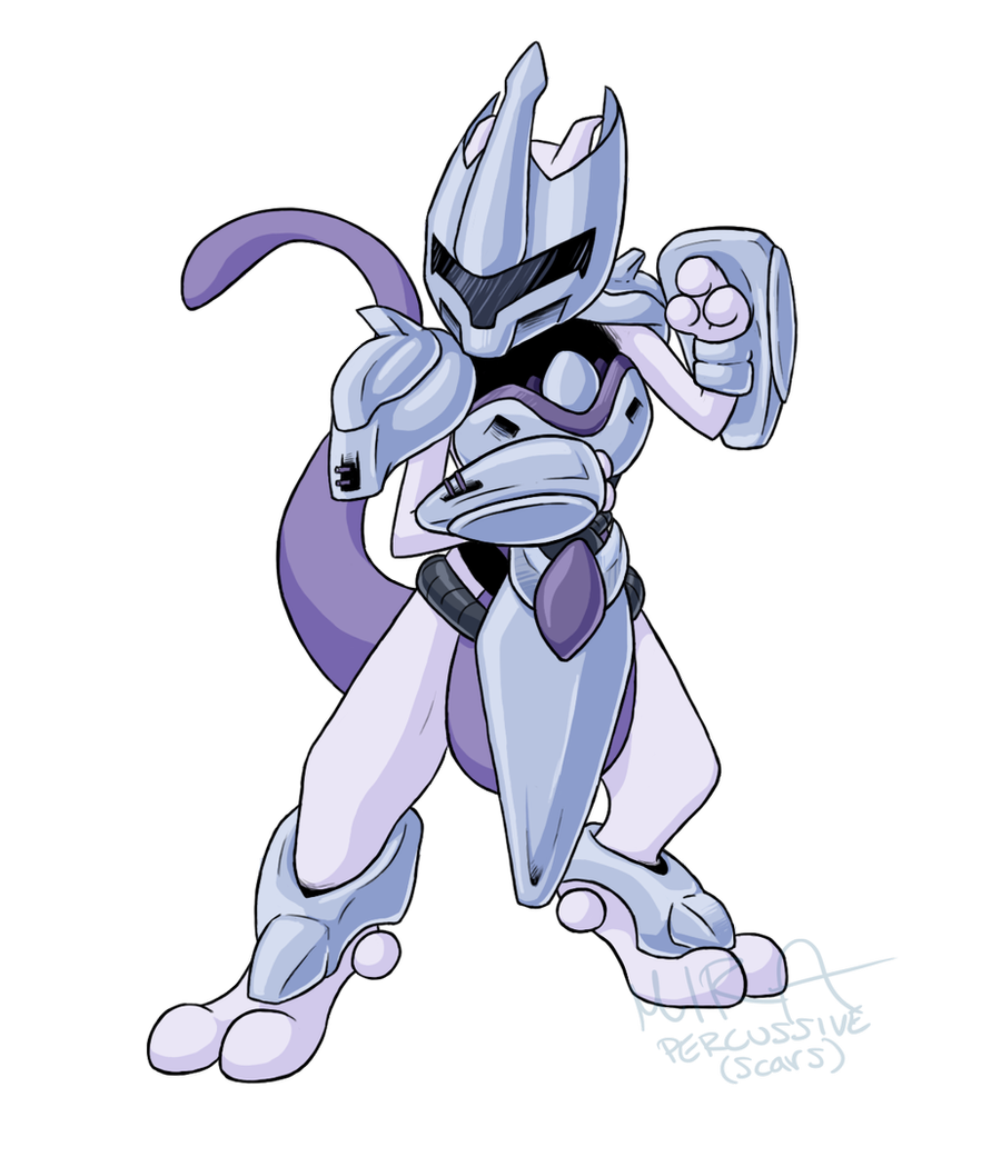 Armored Mewtwo By Bandxoh On Deviantart In 2020 Mew And Mewtwo Mewtwo Pokemon Mewtwo