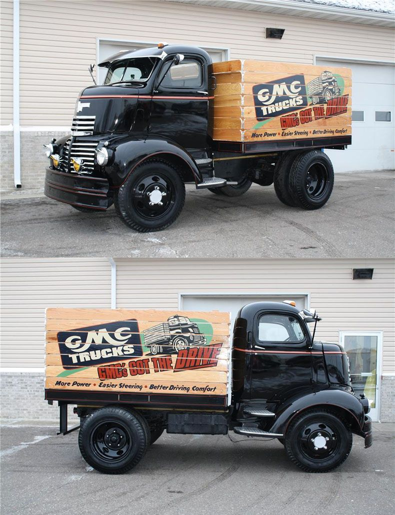 Front View Of The 1937 Gmc Coe Beer Truck That Needs To Be My 1941 Dodge Miller