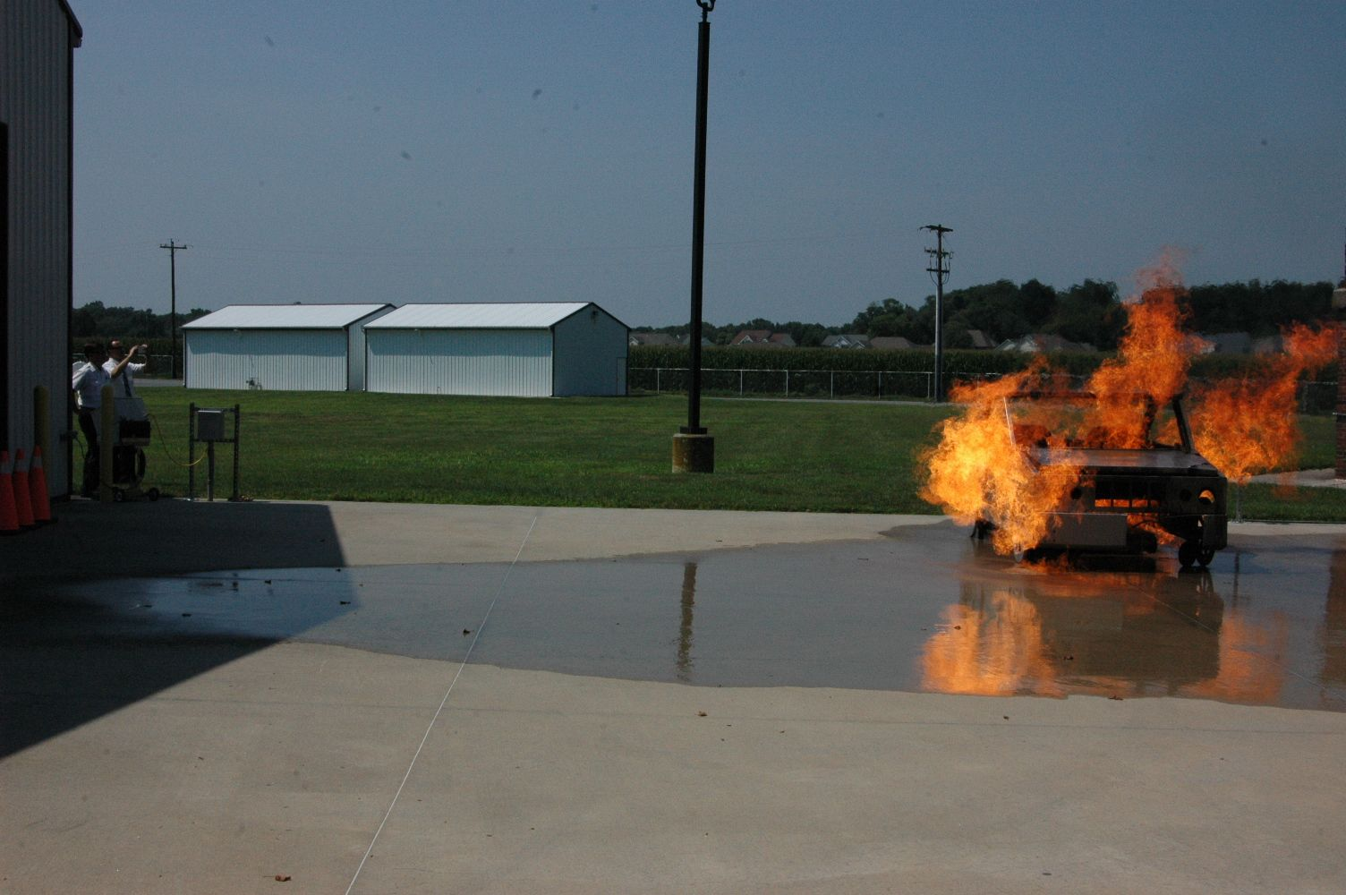 Displaying today, the Drager Automobile Fire Prop