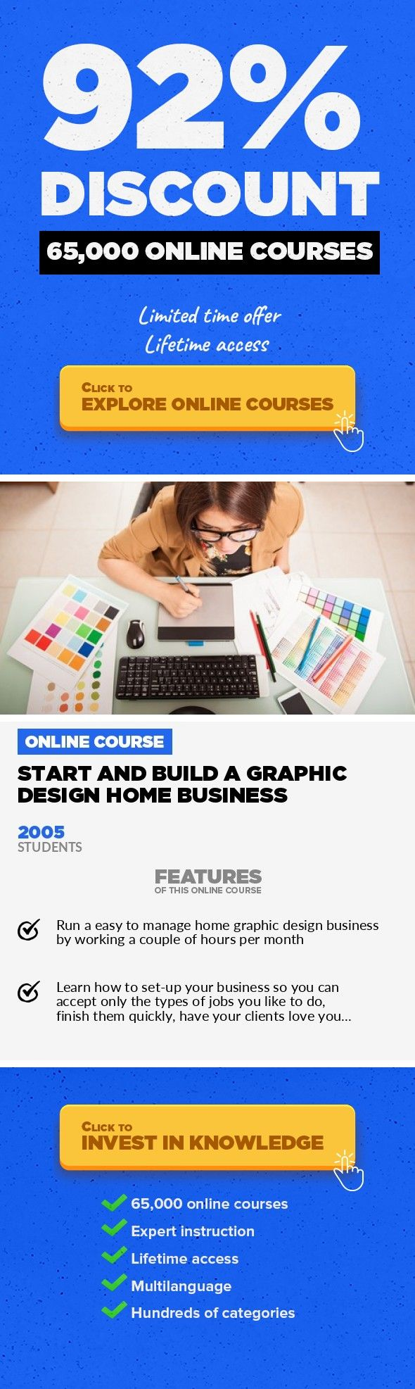 Start And Build a Graphic Design Home Business Home Business ...