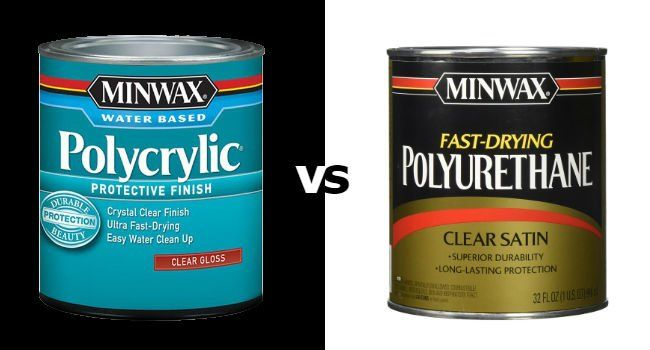 Polycrylic Vs Polyurethane Which To Use On Your Wood