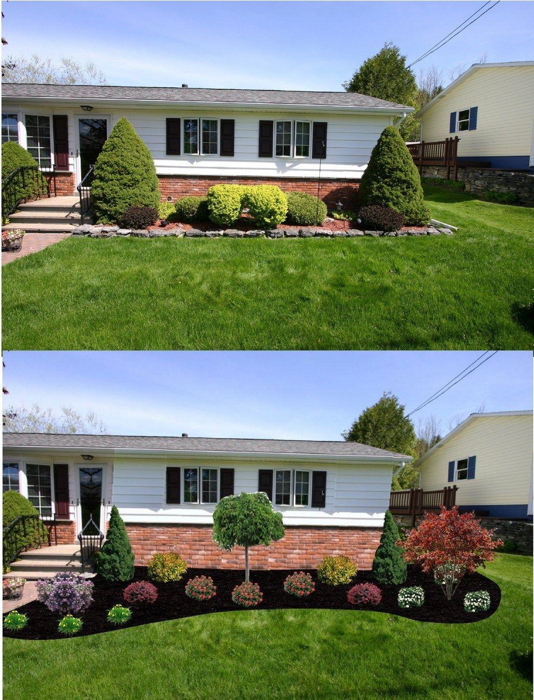 diy beautiful front yard landscaping ideas also rh pinterest