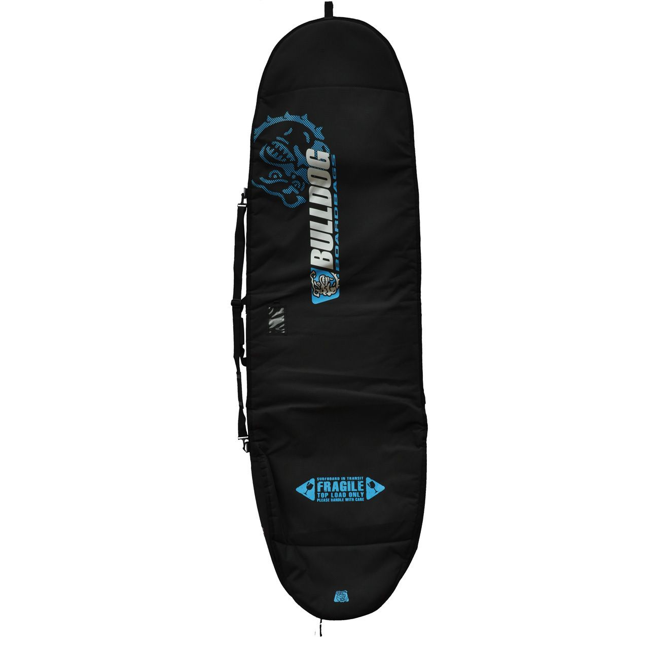 8d9bbf82e380 The Bulldog longboard boardbag will carry and protect surfboard upto 9 ft 1  long from dings when travelling