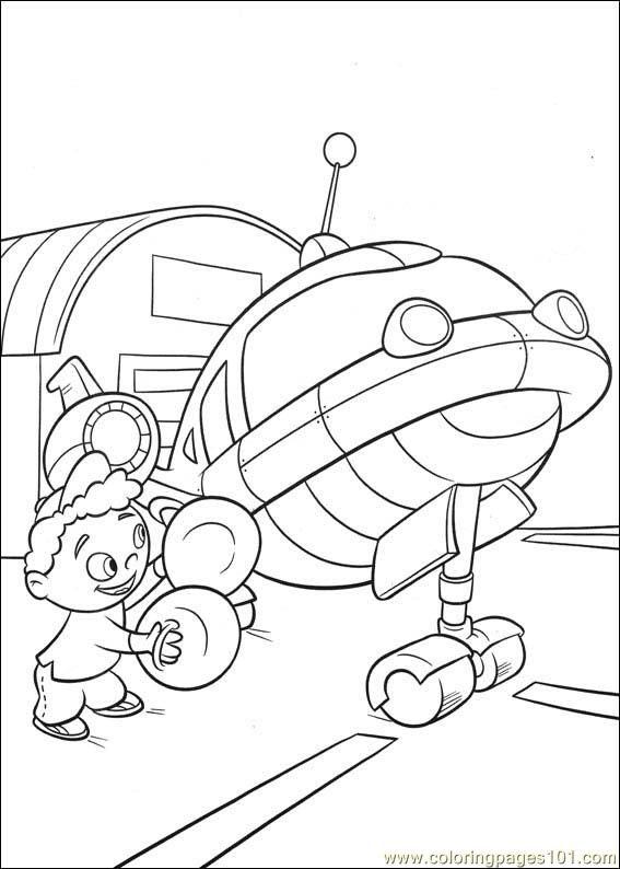 Little Einsteins Coloring Page Little Einsteins Lego Coloring