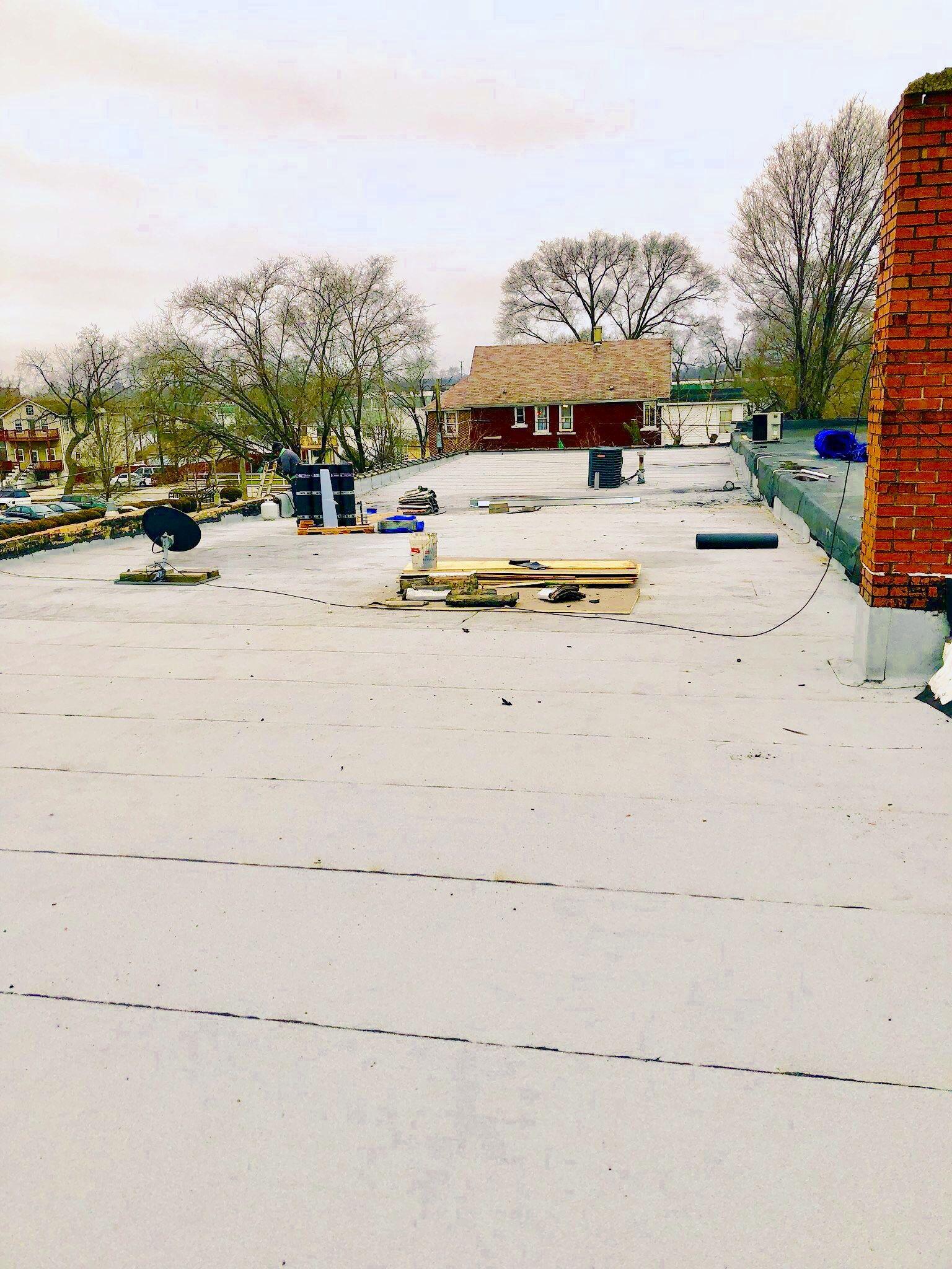 Cool Roof Sbs Modified Bitumen Industrial Roofing Industrial Roofing Cool Roof Commercial Roofing