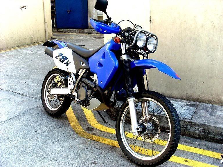 Dr650 Baja Headlight Google Search Dual Sport Motorcycles