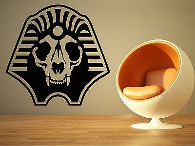 Wall Room Decor Art Vinyl Sticker Mural Decal Sphinx Dog Head Big Large AS1439