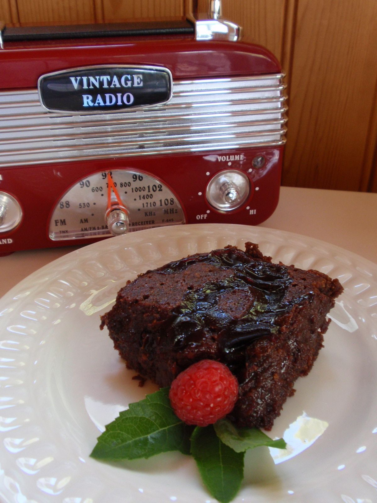 GF, Eggless Chocolate Volcano Brownies   Allergy Free Vintage Cookery