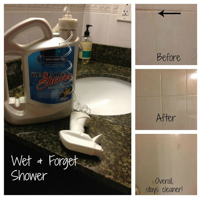 Mammamoiselle Reviews Wet U0026 Forget! Clean ShowerBathroom CleaningForgetToilet  Cleaning