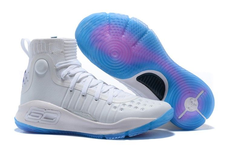 9431e2cc047 2018 Under Armour Curry 4 All-Star White Blue Shoes Hot Sale