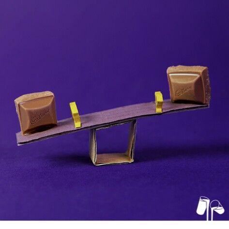 Cadbury see-saw :)
