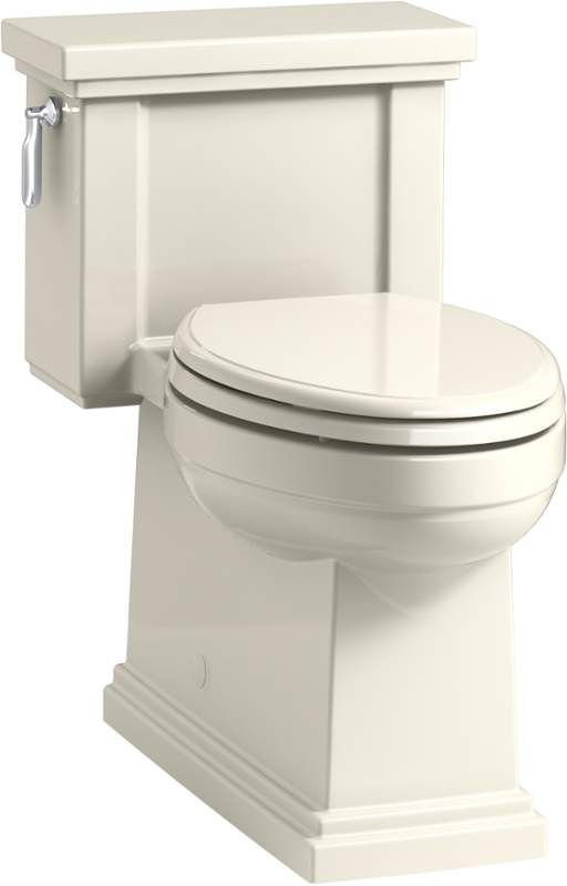 Kohler K 3981 0 White Tresham 1 28 Gpf Elongated One Piece Comfort Height Toilet With Aquapiston Technology Seat Included Faucetdirect Com One Piece Toilets Toilet Water Sense