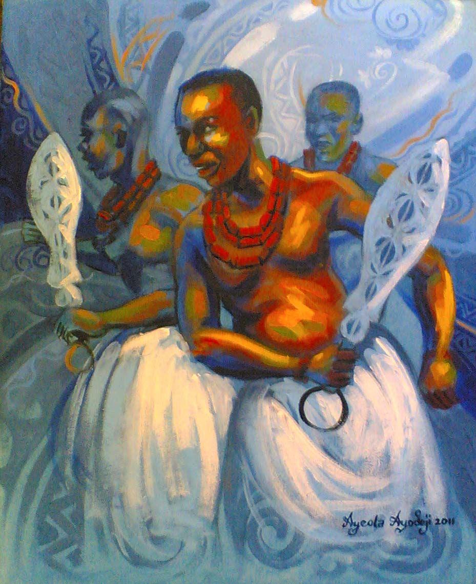Royal dance ayodeji ayeola artist from nigeria