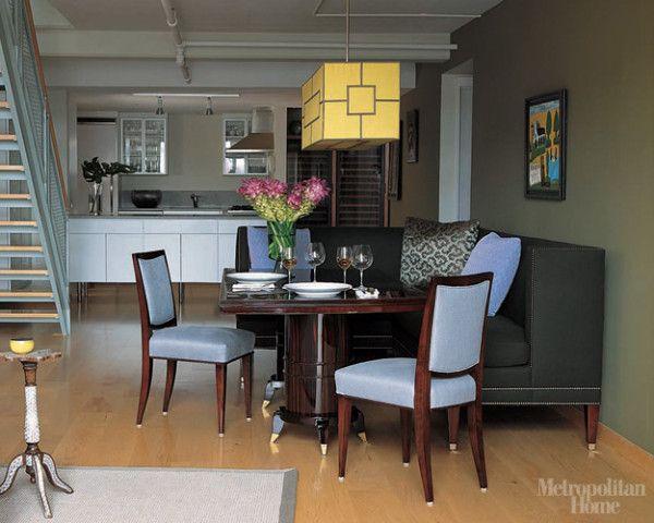LookBook Dining Room ELLE Decor Cocina Pinterest Couch
