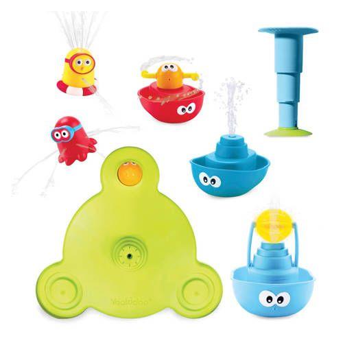 Yookidoo Stack Spray Tub Fountain waterfontein Speelgoed