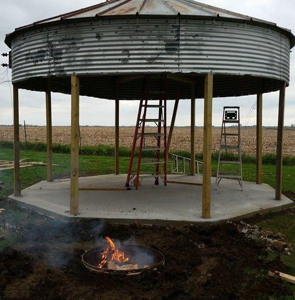 Grain Bin Gazebo - Pergola Gazebo Ideas Intended for Grain ...