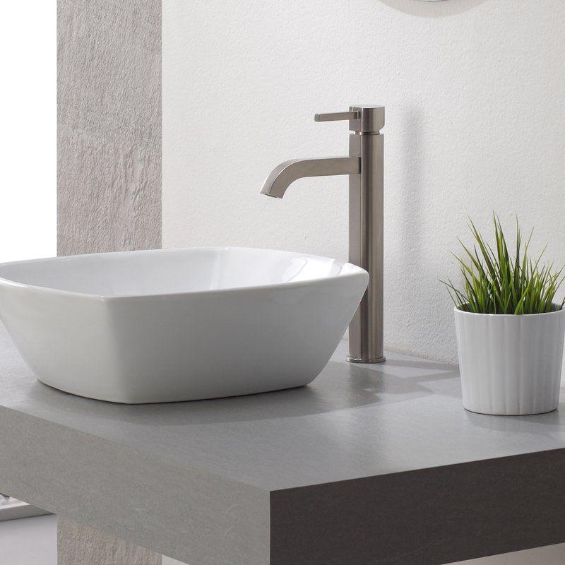 Ramus Single-Handle Vessel Sink Bathroom Faucet | Vessel sink ...