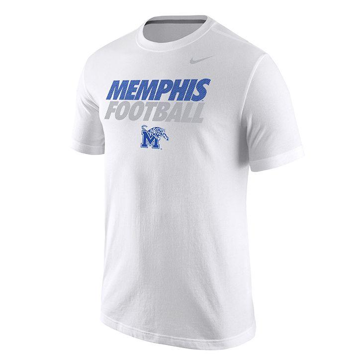 026ef6c05b78 Nike® White Memphis Football T-Shirt   Tiger gear we love   White ...