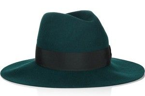 Emilio Pucci Wool and Felt Fedora