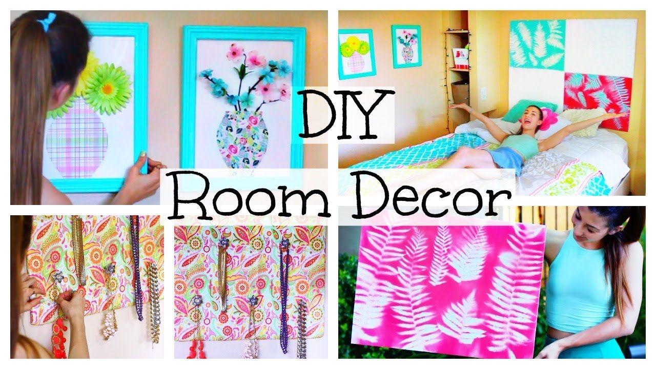 Cute Diy Home Decor Ideas: DIY Room Decor & Organization For Spring