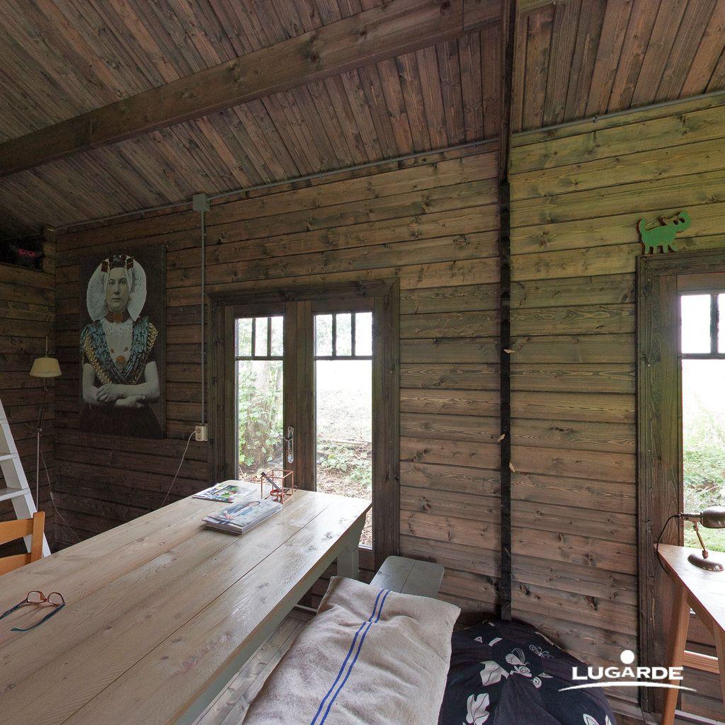 Blockhaus Forest B51 Haus, Gartenhaus und Sitzecke
