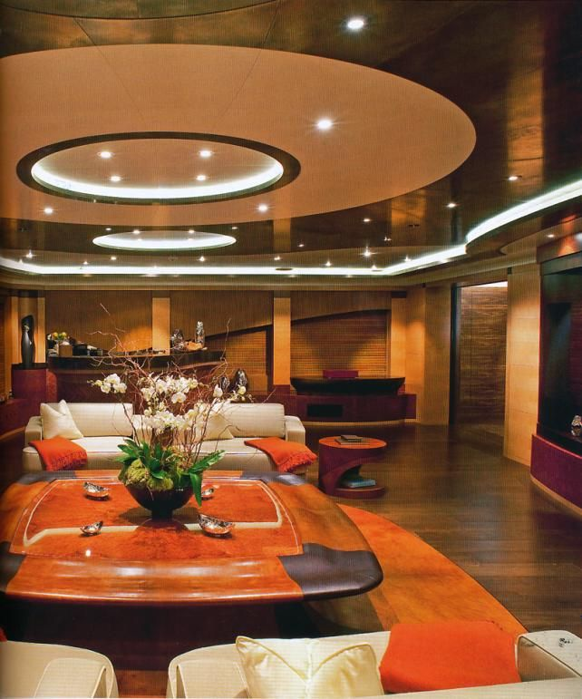 2e6fb87c85 MY Palladium Cinema via @basedupon | Yacht Interior | Yacht interior ...