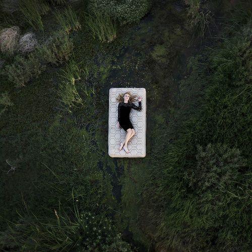 """Sleeping to dream"" -Brian Oldham"