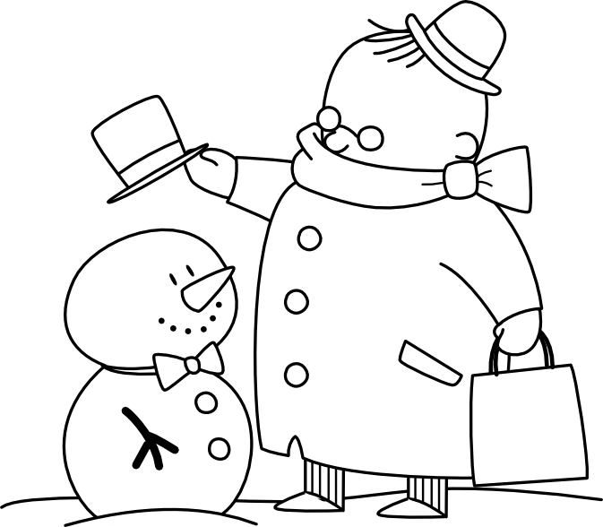 Cute snowman stamp, there's another snowman stamp one on