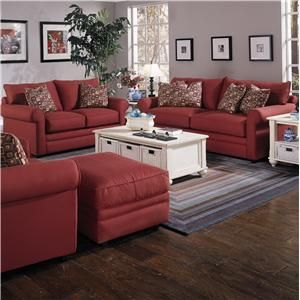 Klaussner Comfy Casual Loveseat Prime Brothers Furniture Love